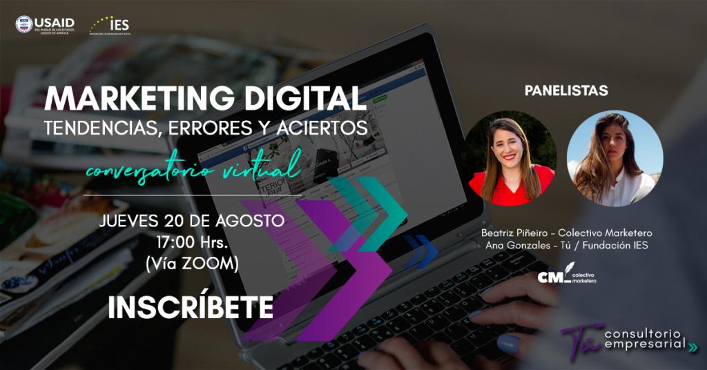 Marketing digital, tendencias, errores y aciertos