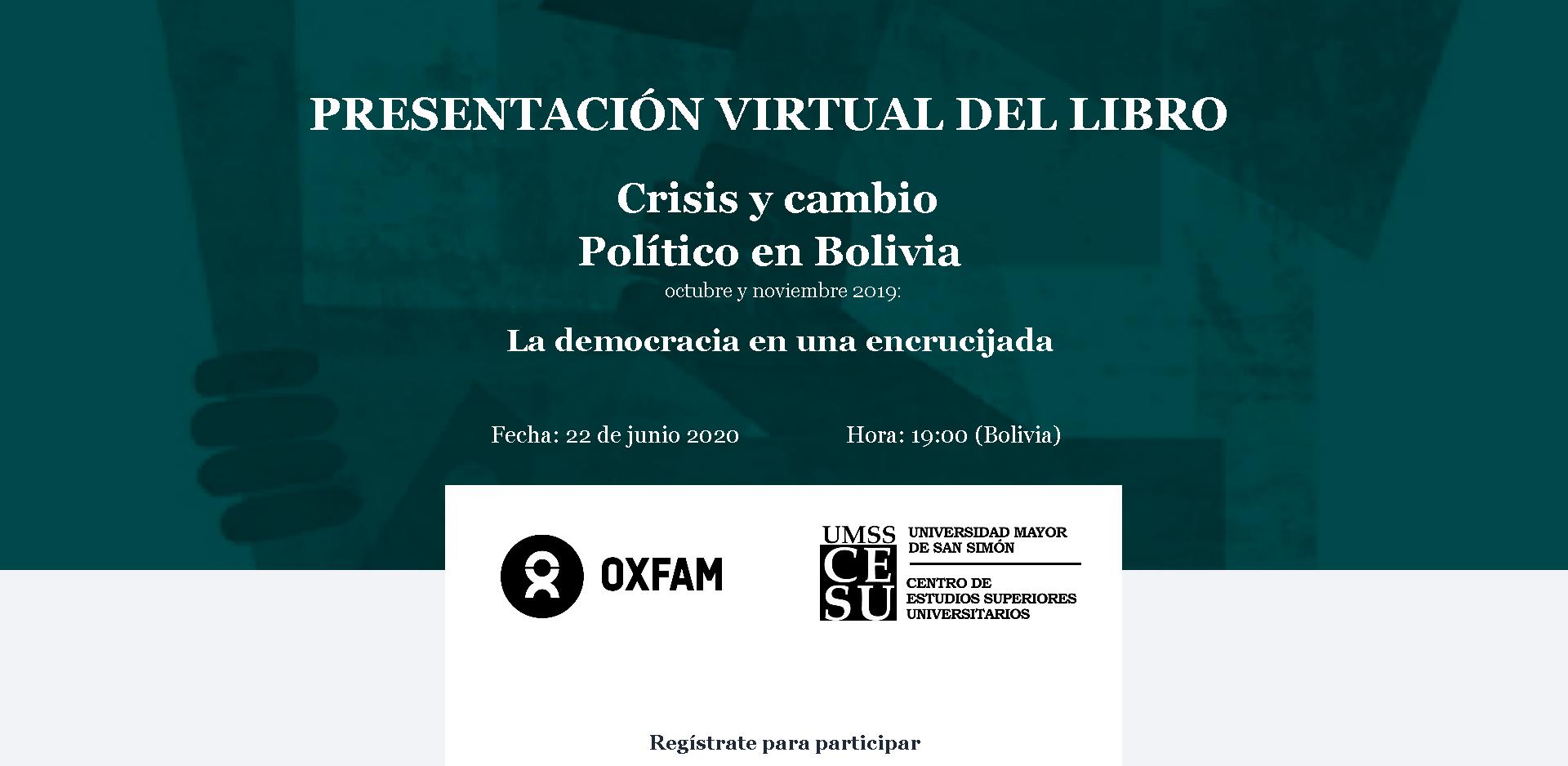 Presentación virtual del libro