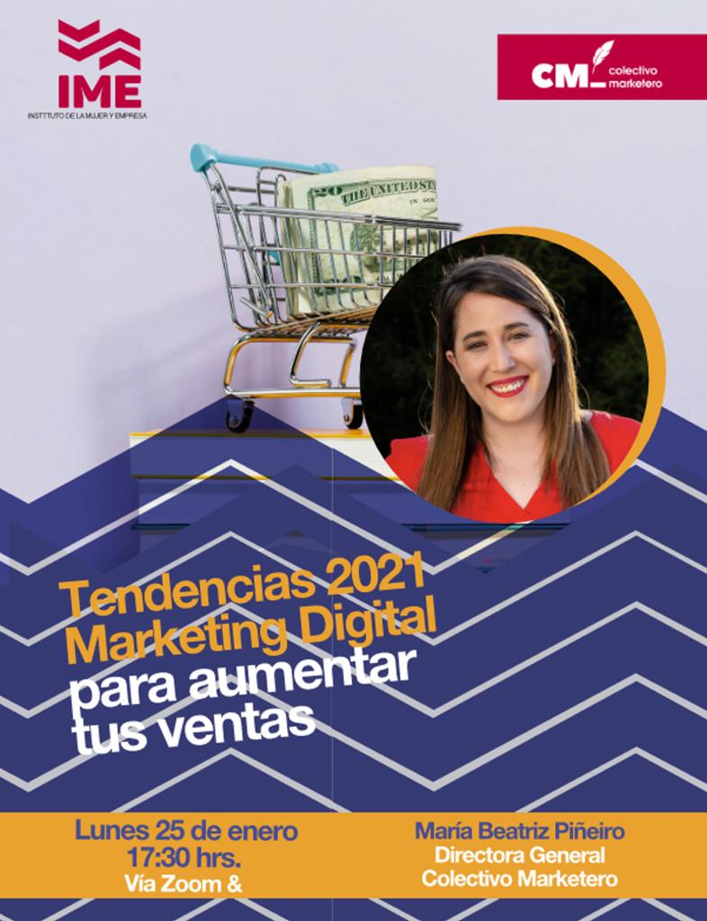 Tendencias 2021 Marketing Digital para aumentar tus ventas