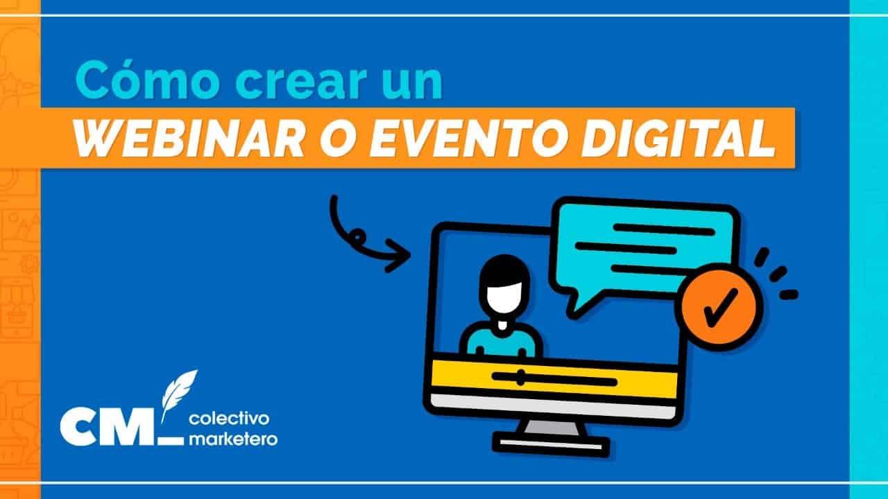 Como crear un evento digital o webinar